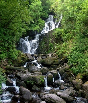 Killarney - Tore waterfall