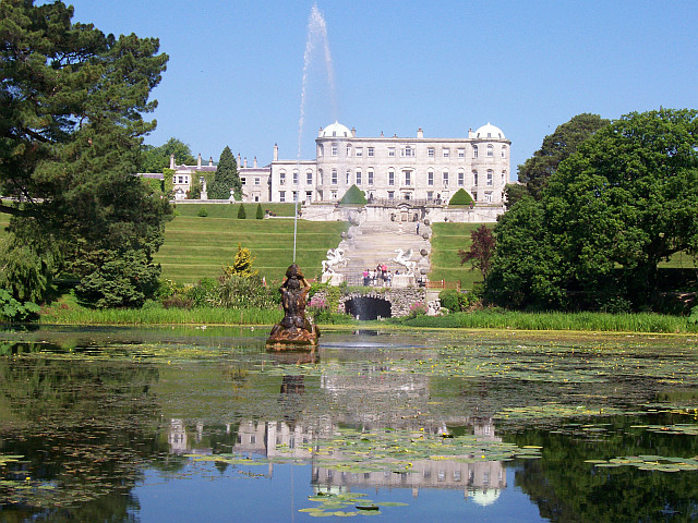 Jardins de Powerscourt - Triton lake