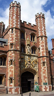Gate of St John college