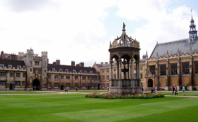 Trinity college courtyard