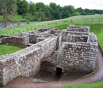 Remains of baths in the fort of Chester