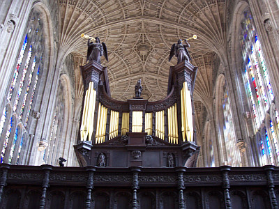 Orgue de la chapelle de King's college