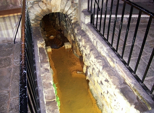 Roman baths - Drainage duct