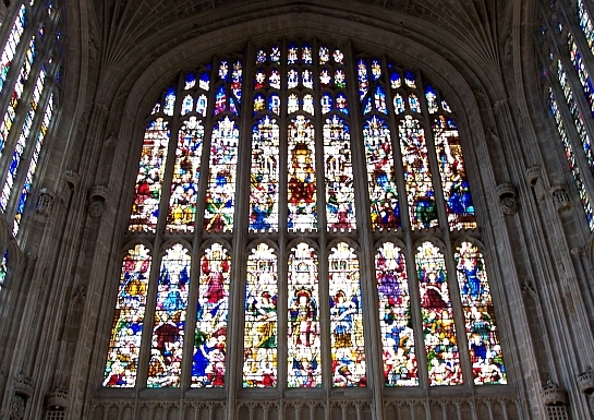 King's college - Stained glass windows