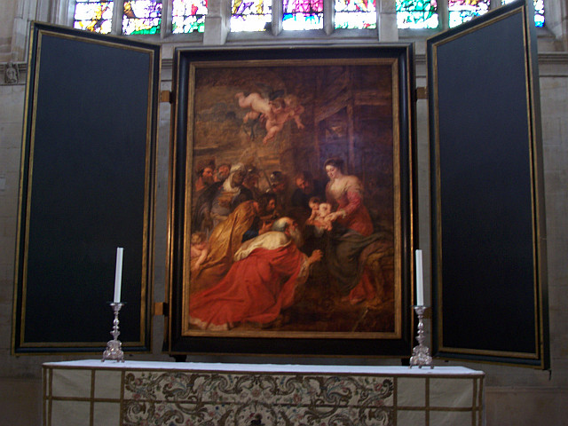 King's college - Painting of Rubens