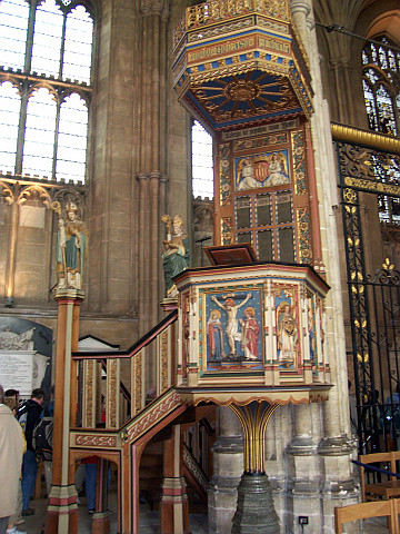 Canterbury Cathedral - Pulpit