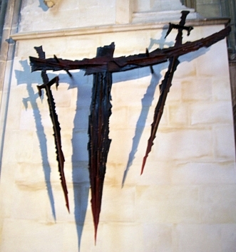 "Canterbury Cathedral - Altar of the ""sword's point"""