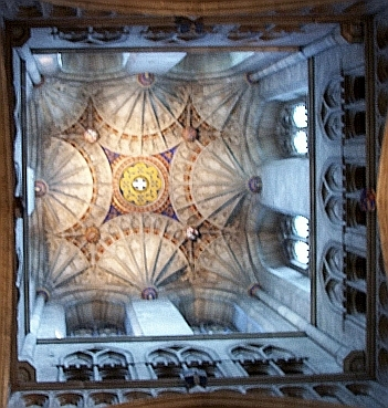 Canterbury Cathedral - Vault of the tower