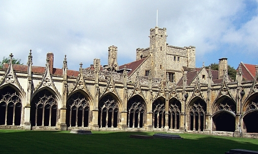 Canterbury cathedral - Cloister