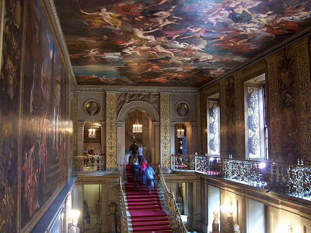 Chatsworth house - Great stairs