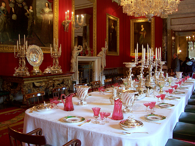 Chatsworth house - Dinning room