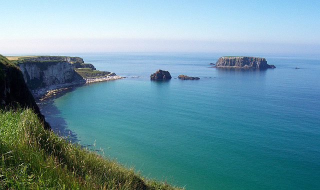 Antrim coast, from Carrick-a-rede rope side