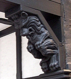 Chester - Wooden carving (view 2)