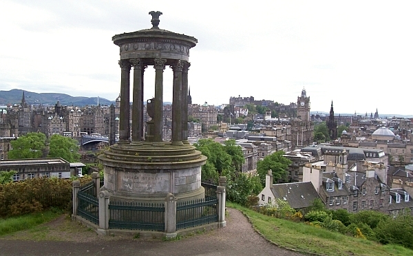 Calton hill (Edinburgh) - Tholos