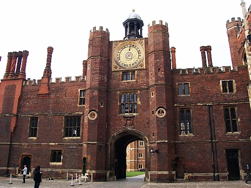 Hampton court - Tour de l'horloge