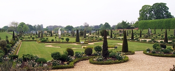 Hampton court - Jardins