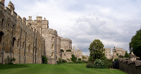 Windsor castle - Ramparts