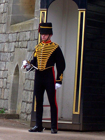 Windsor castle - Guard