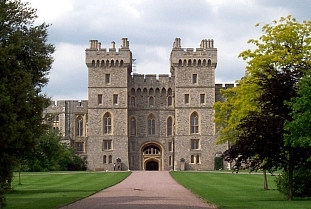 Windsor castle - South facade