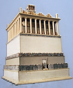 British museum - Model of the Mausoleum of Halicarnassus