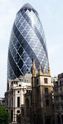 The City - Swiss Re Building (the gherkin)
