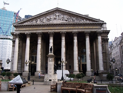 The City - Old royal exchange