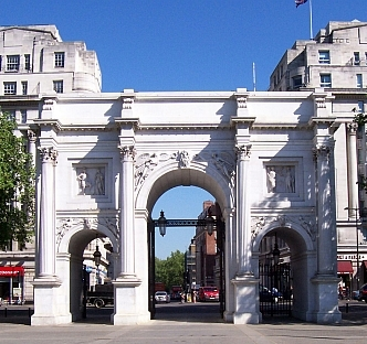 Famous Hyde park - Marble arch