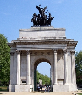 Hyde park - Arc de Wellington