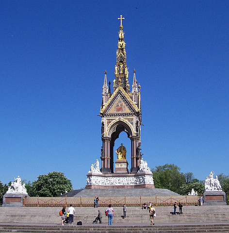 Kensington park - King Albert memorial