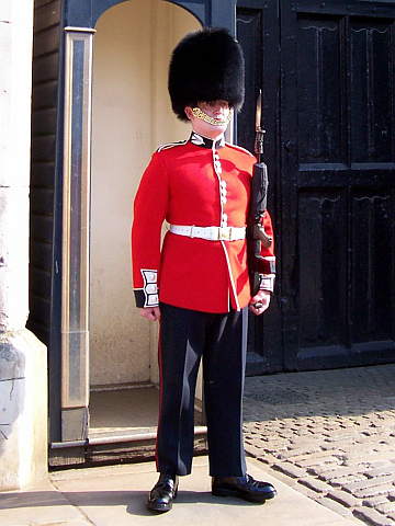 Buckingham palace - Royal guard