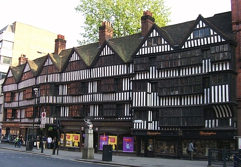 Holborn district - Staple Inn