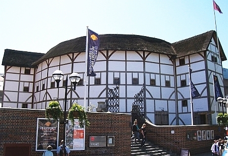 """Shakespeare globe"" theatre"