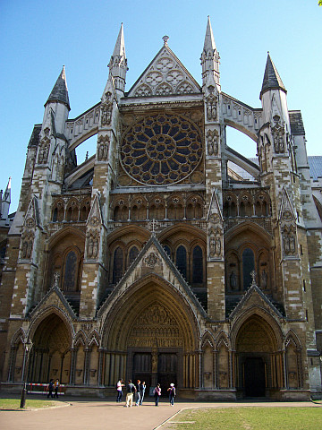 Westminster abbey - side entrance