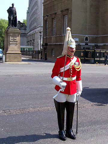 Whitehall - Changing of the guard