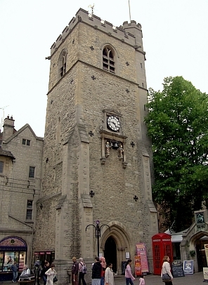 Oxford - Tour de l'horloge