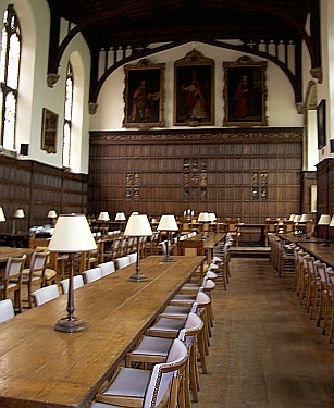 Magdalen college - In the inside