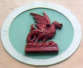 Portmeirion - Dragon, symbol of Wales
