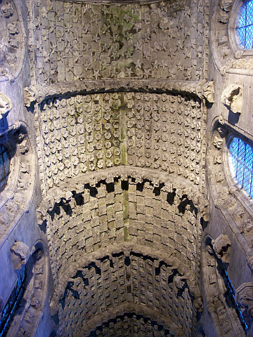 Ceiling of Rosslyn chapel