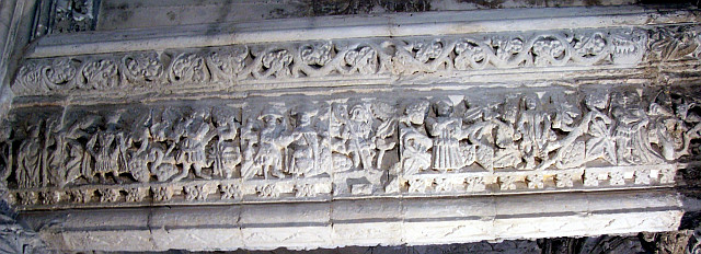 Rosslyn chapel - Frieze of the seven deadly sins