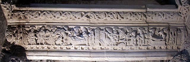 Rosslyn chapel - Frieze of virtues