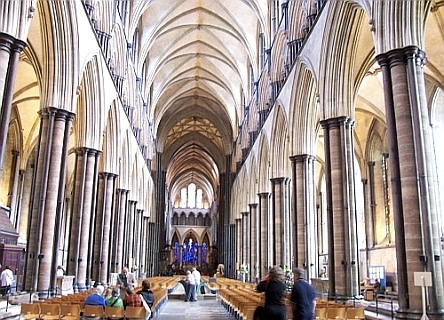 Salisbury Cathedral - Nave