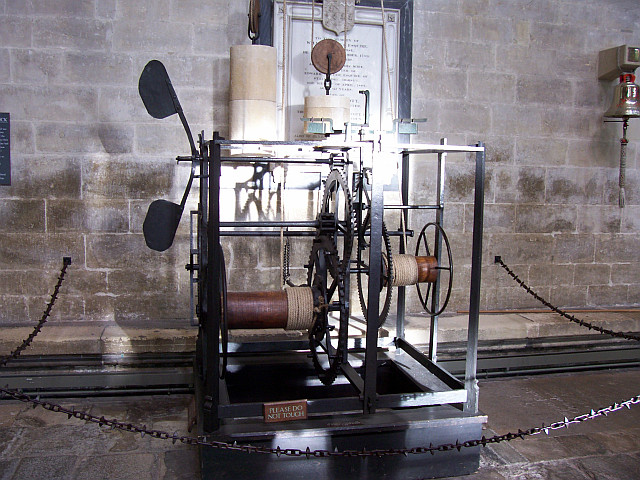 Salisbury Cathedral - The oldest clockwork of England