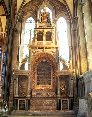 Salisbury Cathedral - Tomb of Sir Edward Seymour