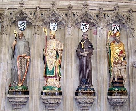 Salisbury Cathedral - Statues of Saints
