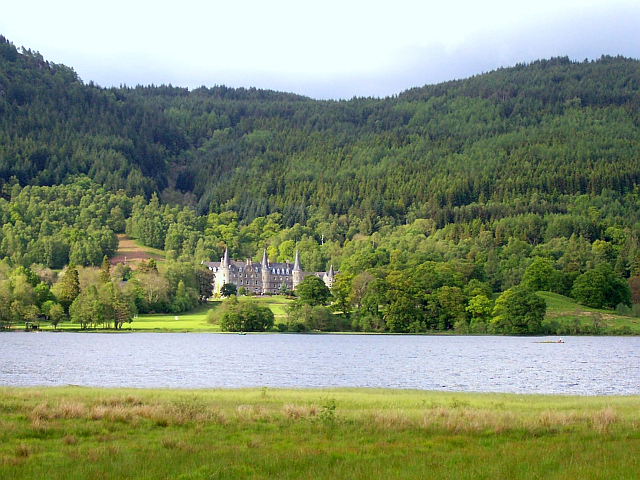 Lake and Manor of the Trossachs