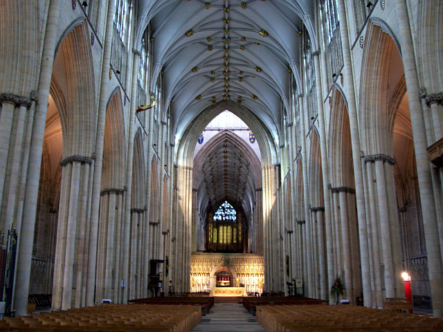 York Cathedral - Nave