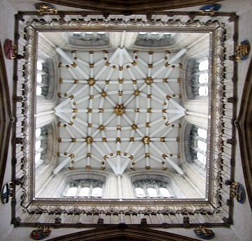 York Cathedral - Keystone of the central tower