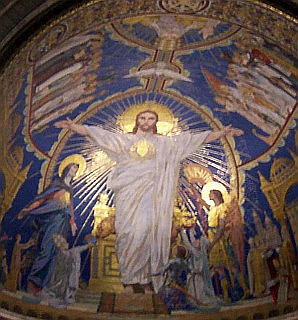 Mosaics of the Sacred Heart of Jesus
