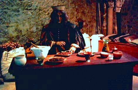 Provins - Model of an Italian merchant