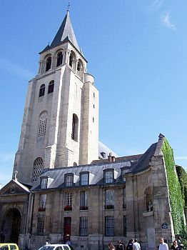 Paris - Saint-Germain-des-prés church